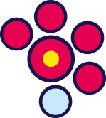 Cerchi Rossi e Azzurri AEquacy